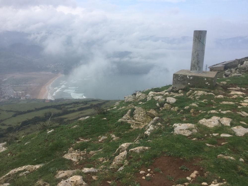 Punta Lucero in the mist. (2/6)
